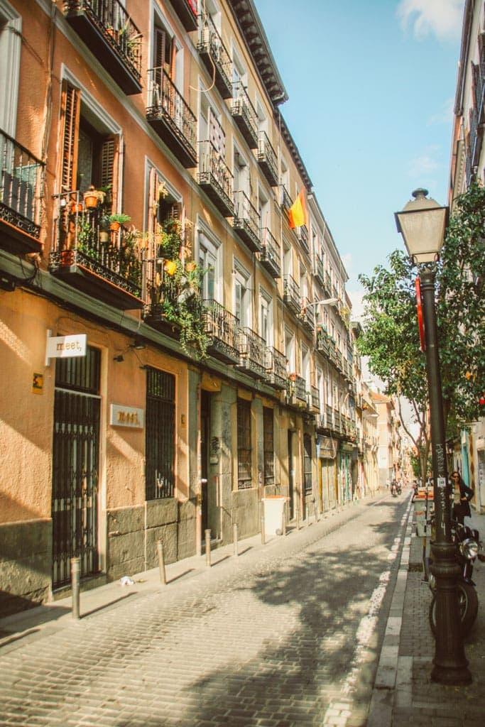 A street in Malasana