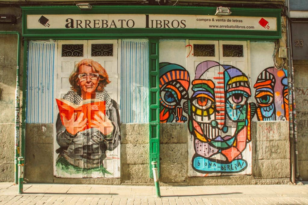Alternative Madrid - street art in Malasana