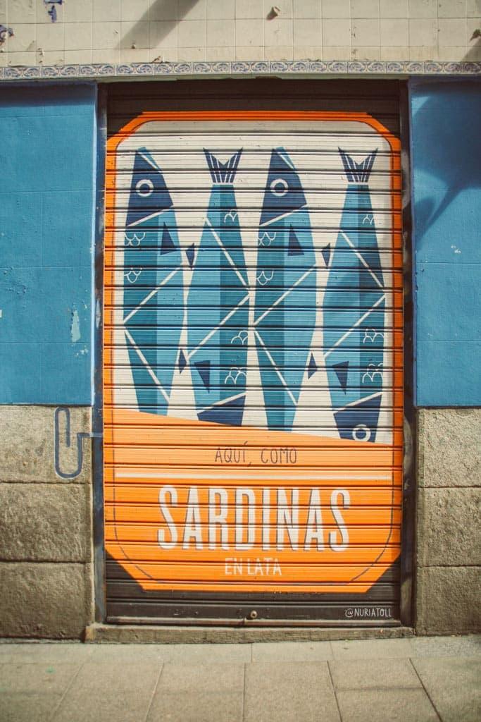 mural in Malasana