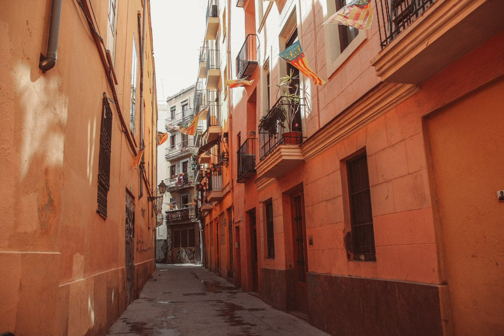 old city Valencia - alley