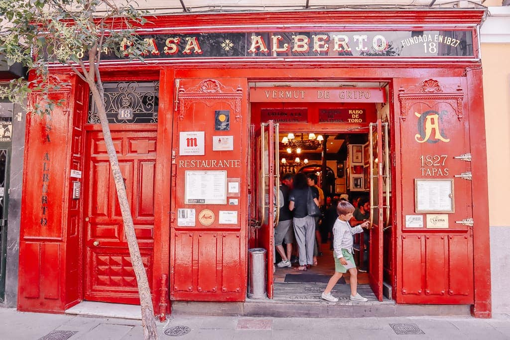Casa Alberto - one of the best tapas bars in Madrid