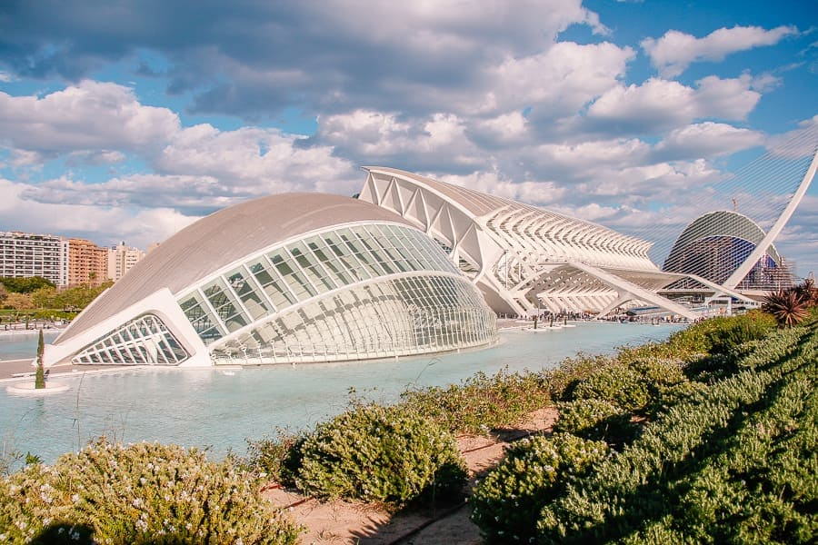 Valencia on a budget - City of Arts and Sciences