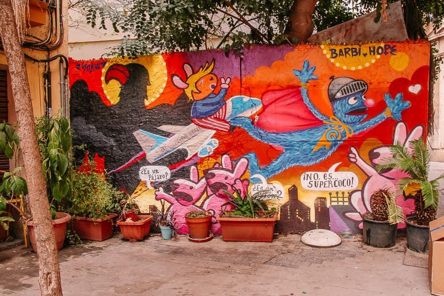 El Carmen street art