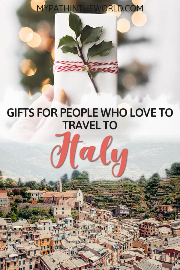 Looking for gifts for Italy lovers? Check out these 25 best travel gifts ideas for women and men who are obsessed with Italy!