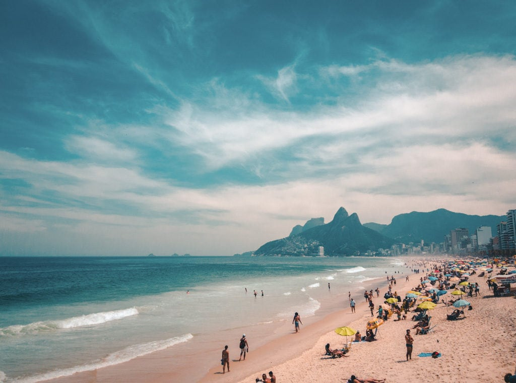 3 days itinerary in rio de janeiro - Copacabana