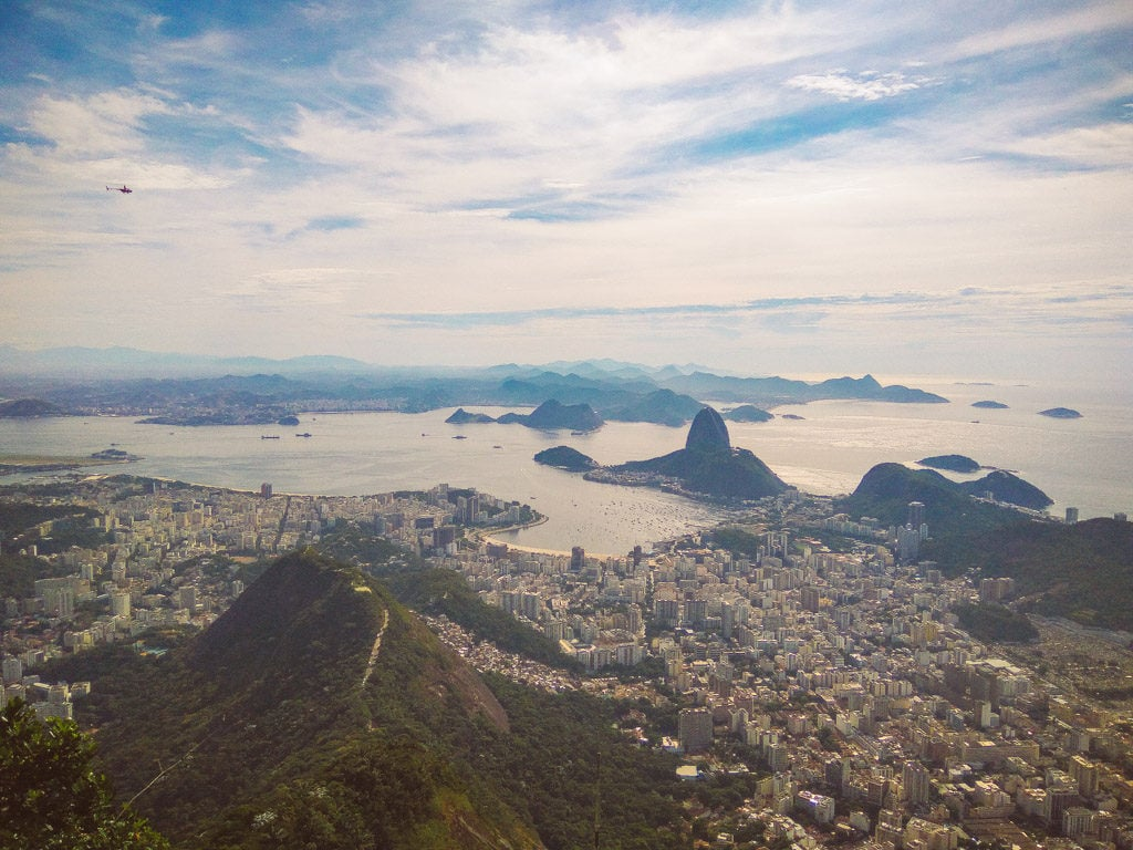 3 days in rio itinerary - Corcovado viewpoint