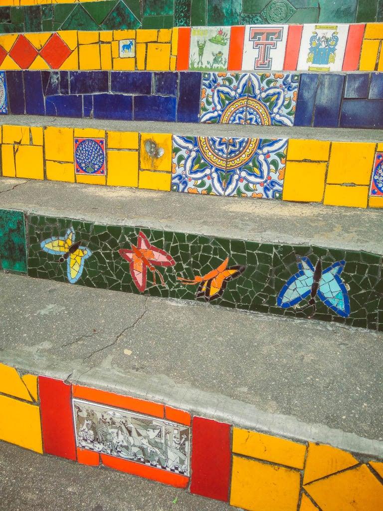 Rio de Janeiro itinerary - Escadaria Selaron