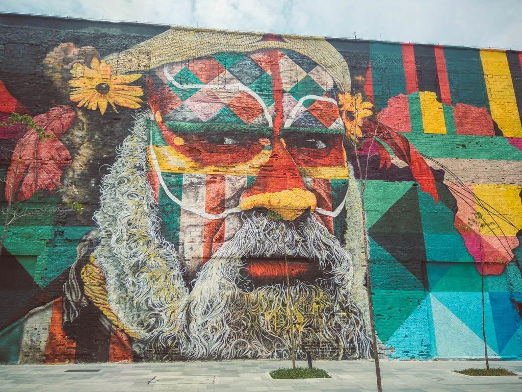 Rio de Janeiro itinerary - Etnias mural