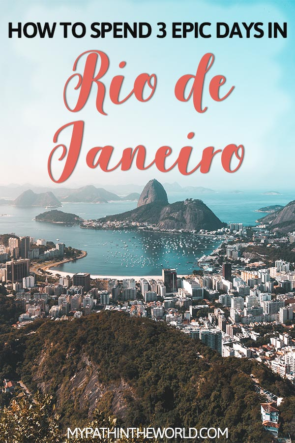 Looking for things to do in Rio de Janeiro Brazil? Read here my full 3 day Rio de Janeiro travel itinerary!
