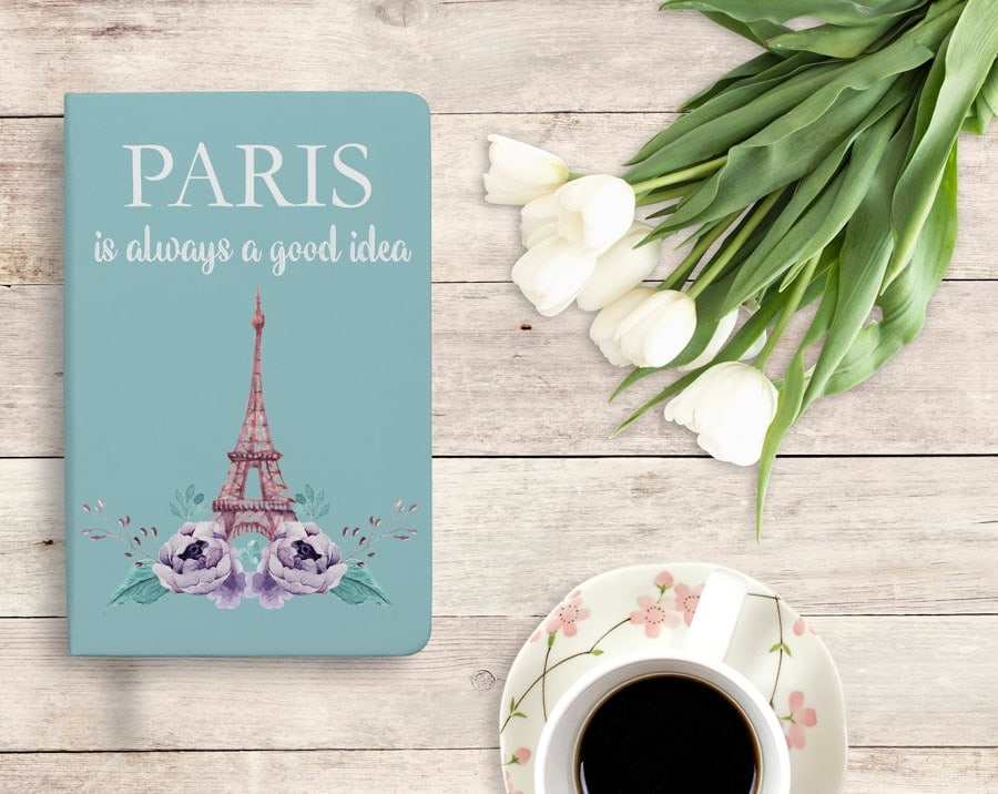 Paris inspired journal
