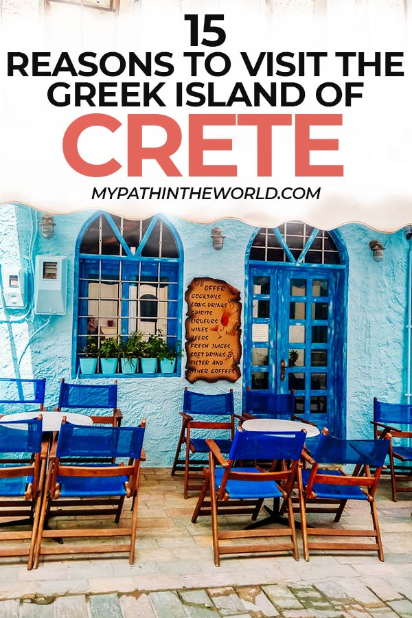 Wondering if you should travel to Crete Greece? Here are all the reasons to visit Crete, the largest of the Greek islands and one of the best Greece travel destinations.