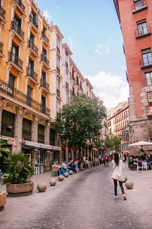 places to visit in Madrid in 2 days - La Latina