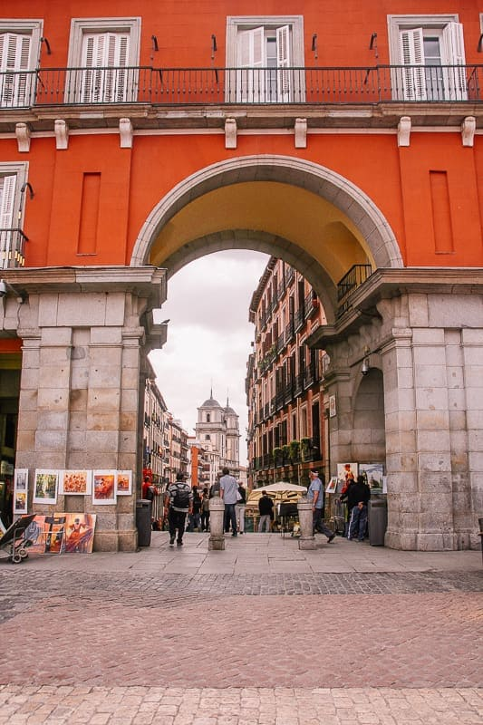 Madrid what to do in 2 days - Plaza Mayor