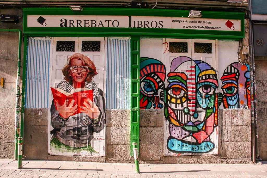places to see in madrid in 2 days - street art