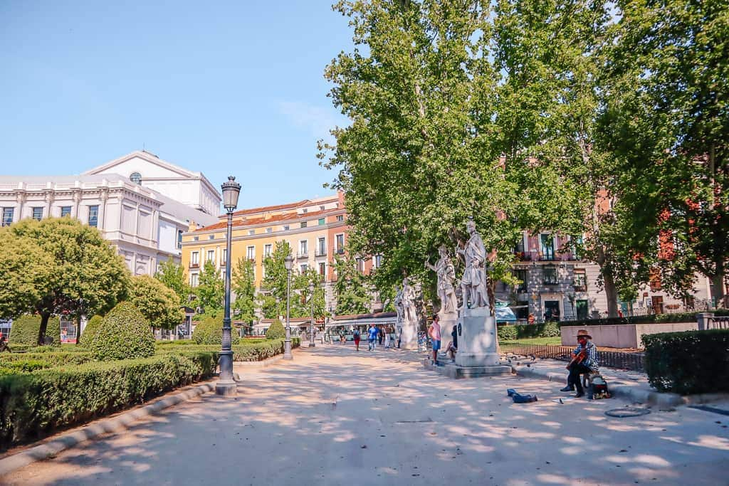 what to see in madrid spain in 2 days - Plaza Oriente