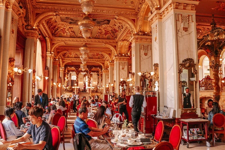 A classic brunch in Budapest - New York Palace Cafe
