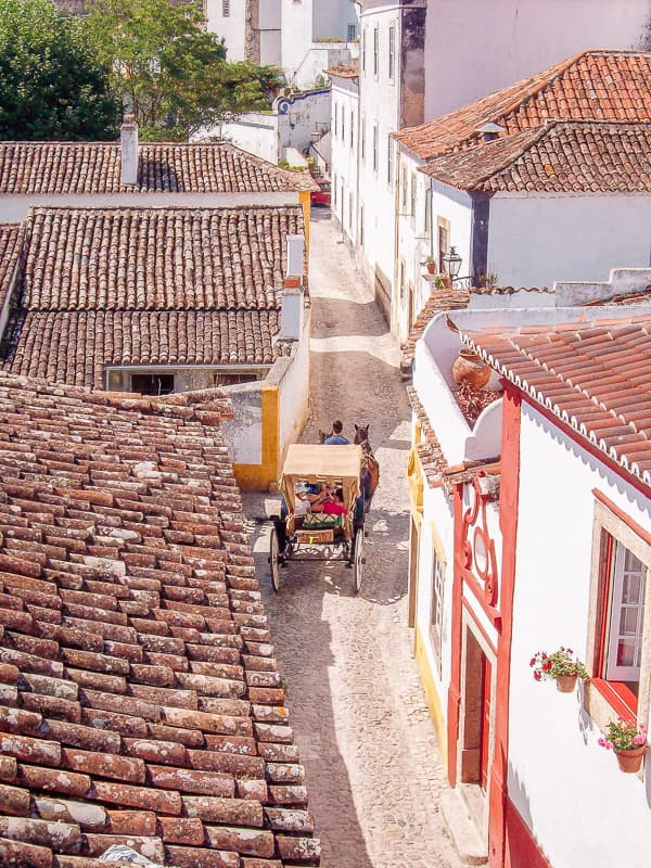 a carrige in obidos