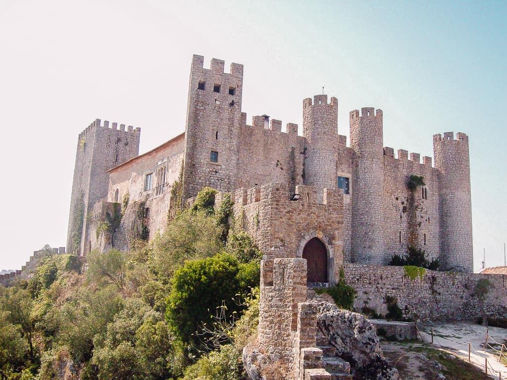 obidos photos - castle of obidos