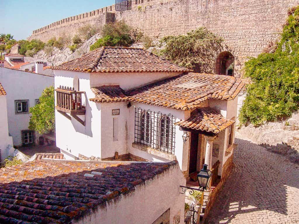 photos obidos portugal - a house in obidos