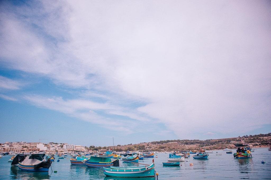 Pictures of Malta - Marsaxlokk fishing village