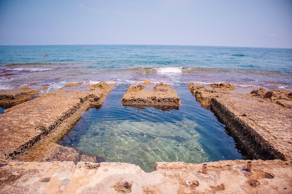 Roman baths in Sliema