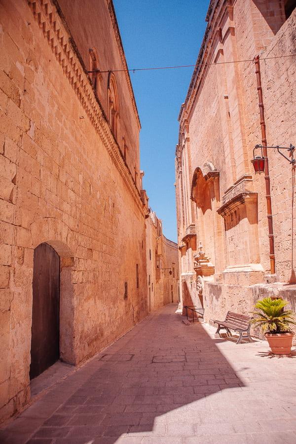 old street in Mdina