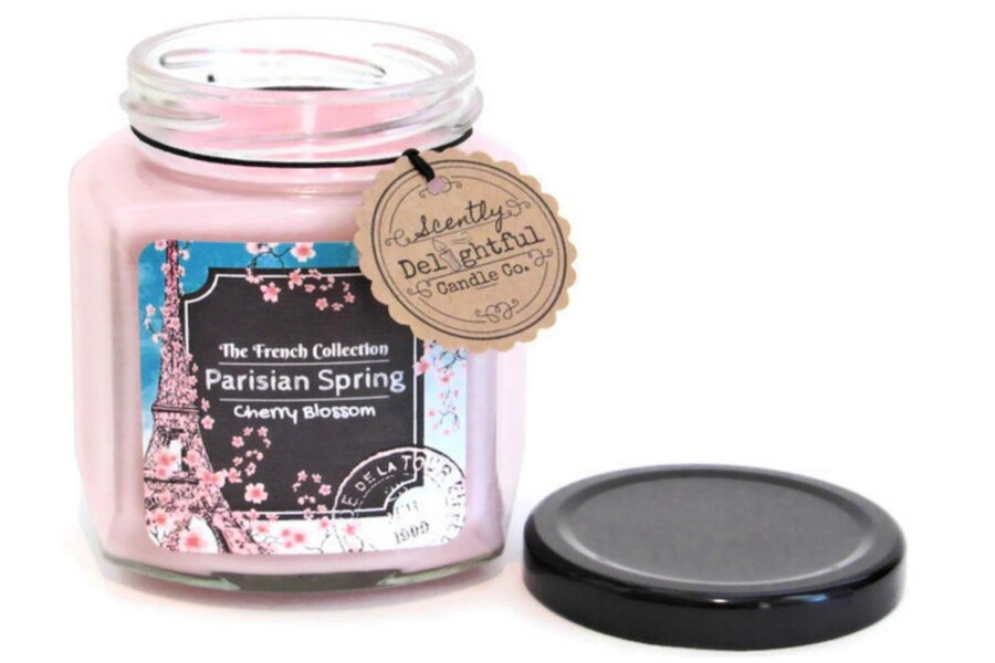 Paris inspired scented candle