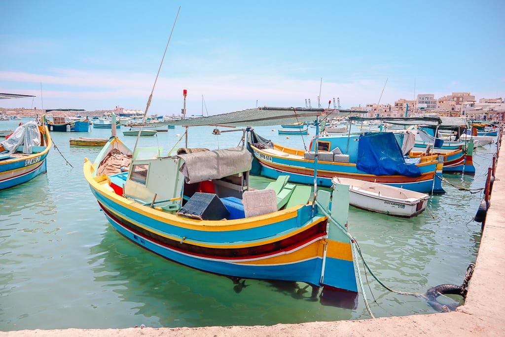 Malta in 3 days - Marsaxlokk boat