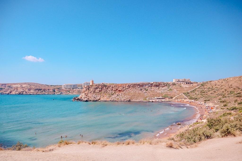 3 day malta itinerary - Riviera beach