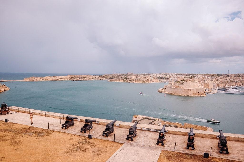 Valletta saluting battery