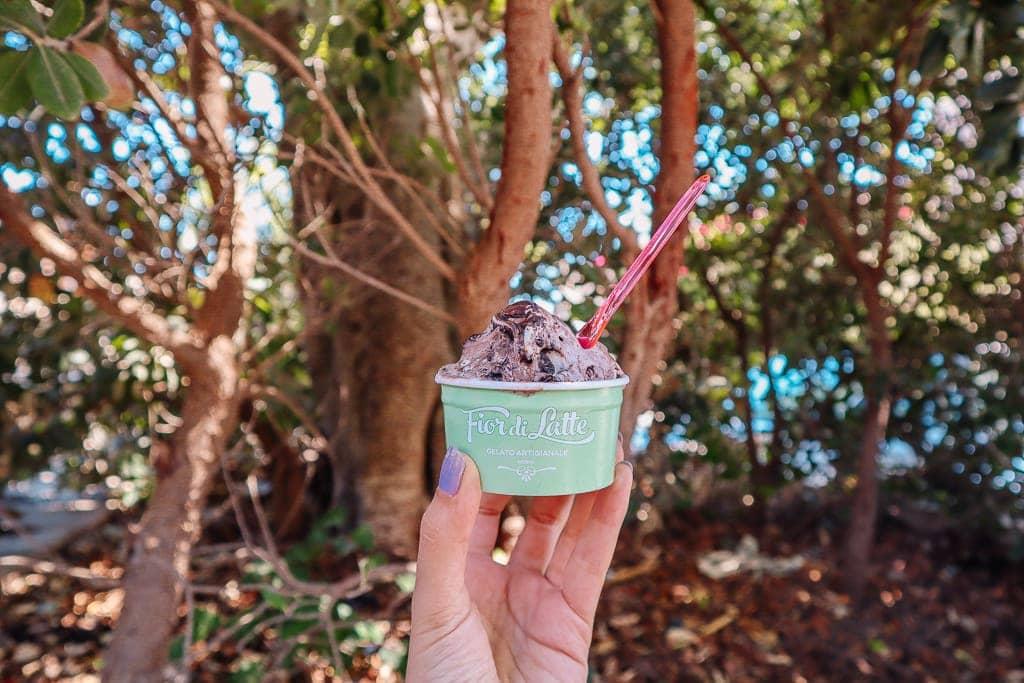 malta itinerary 3 days - gelato in Mdina
