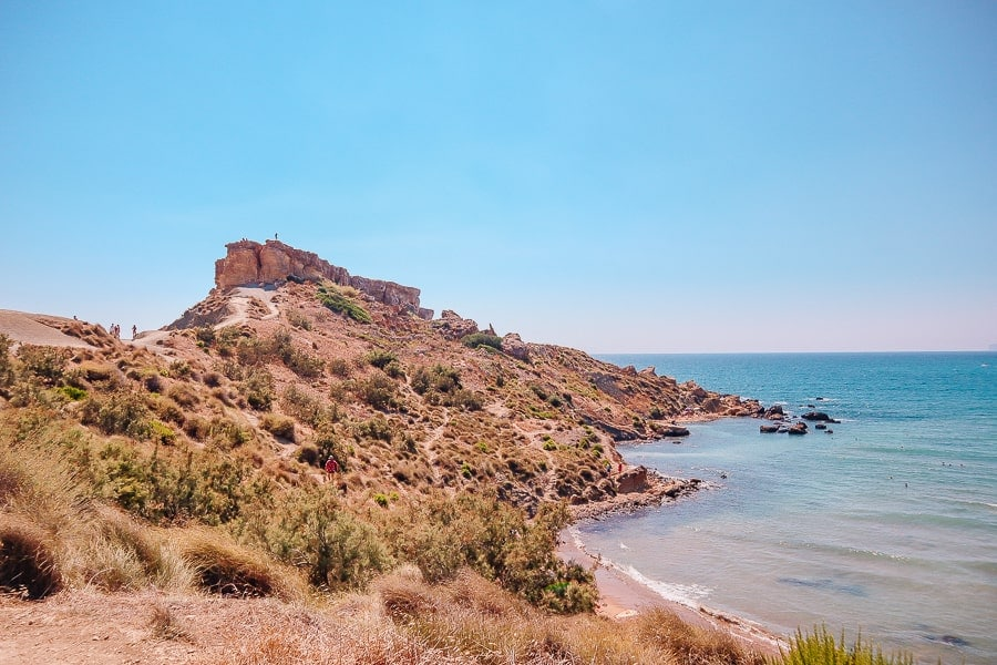 Malta tips - a bay in malta