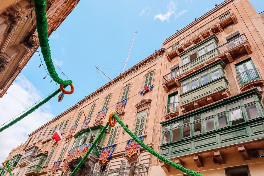 malta tips travel - festas