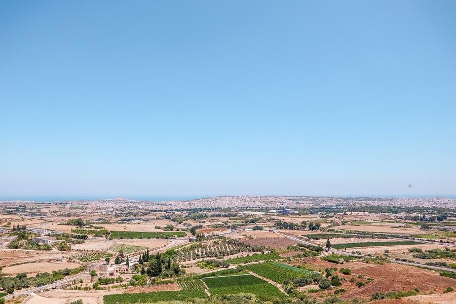 views above malta