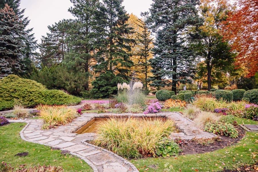 Is poznan worth visiting - botanical gardens