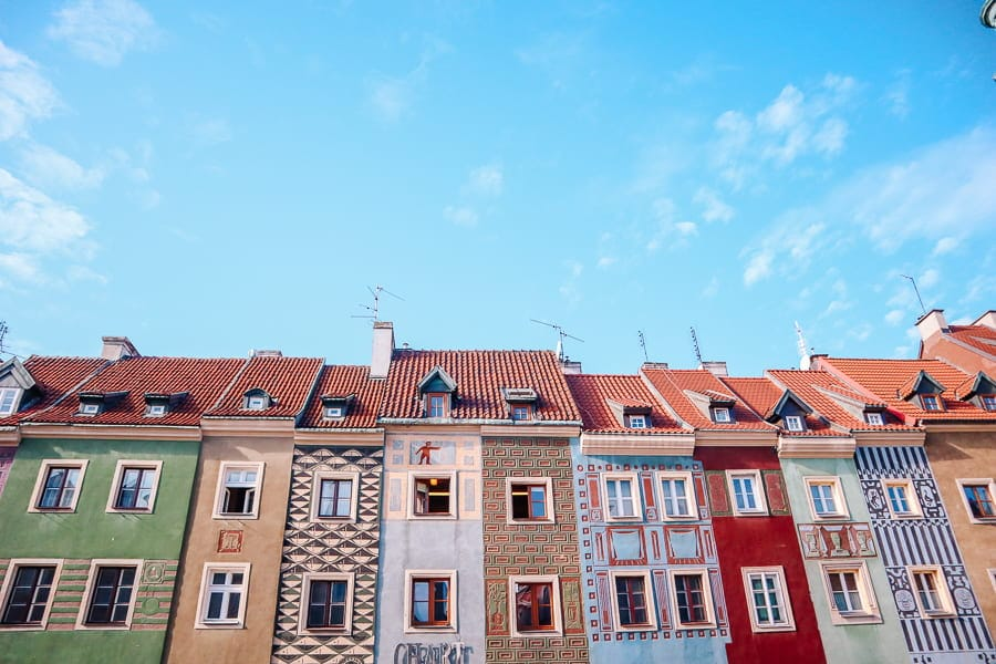 Things to see in Poznan - Merchants Houses