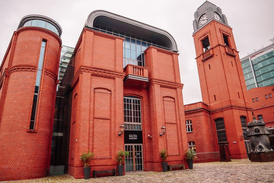 places to visit in Poznan - old brewery