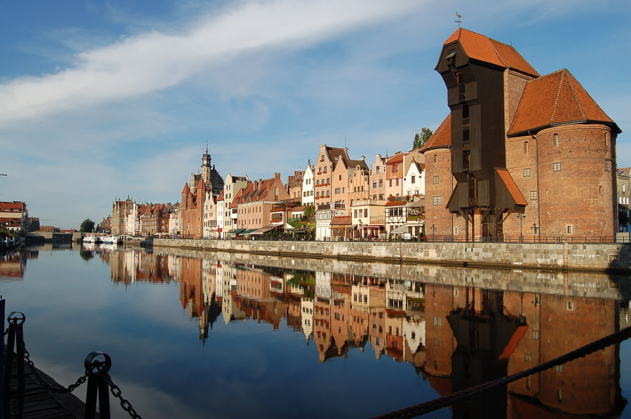 best cities to visit in Poland - Gdansk