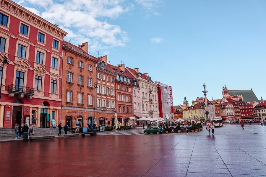 best tourist cities in poland - Warsaw