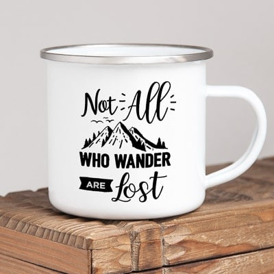 gifts for travel lovers - camper mug