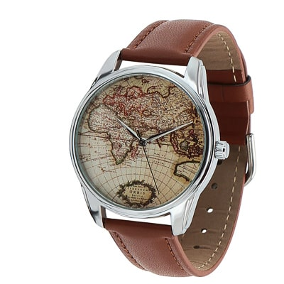 best travel gifts - map watch