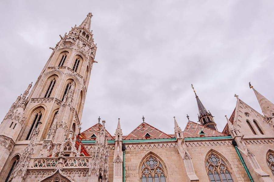 budapest pictures gallery - st mattiash church