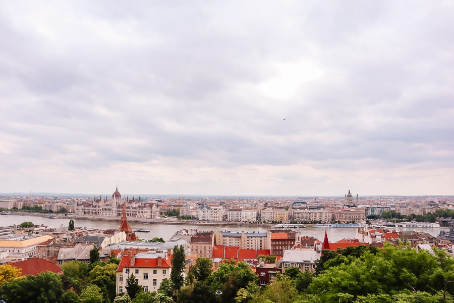 best photos of Budapest Hungary - views over the Danube
