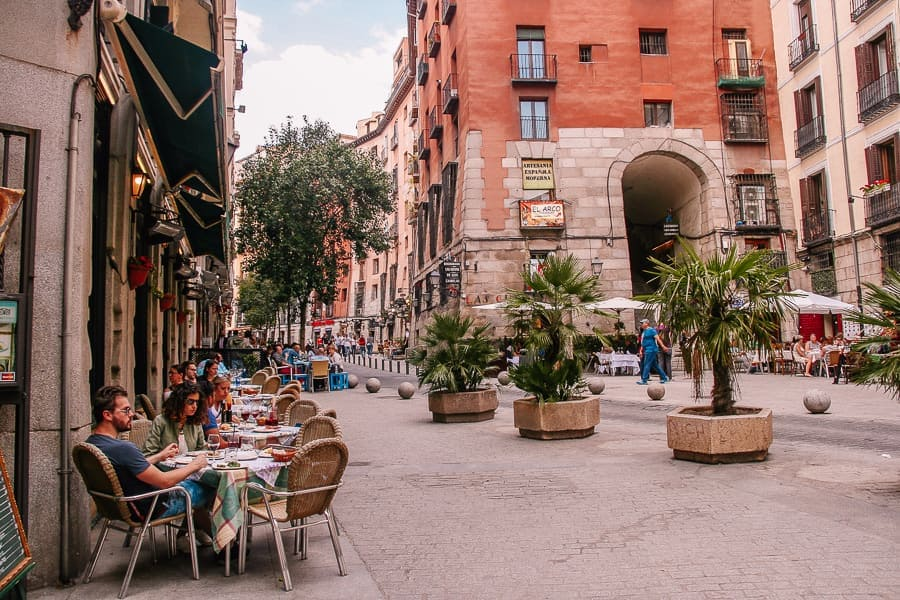 best neighborhood to stay in Madrid - La Latina