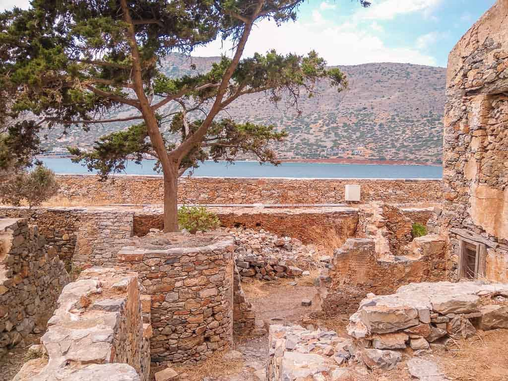 second stop on the Spinalonga day tour - Spinalonga island