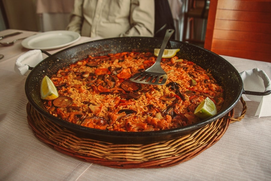 tips Valencia - eat paella