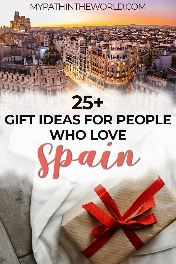 Looking for the best Spain gift ideas? Here are 27 awesome Spain themed gifts!