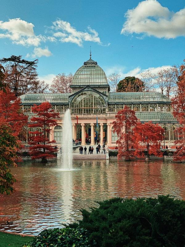 Madrid in fall