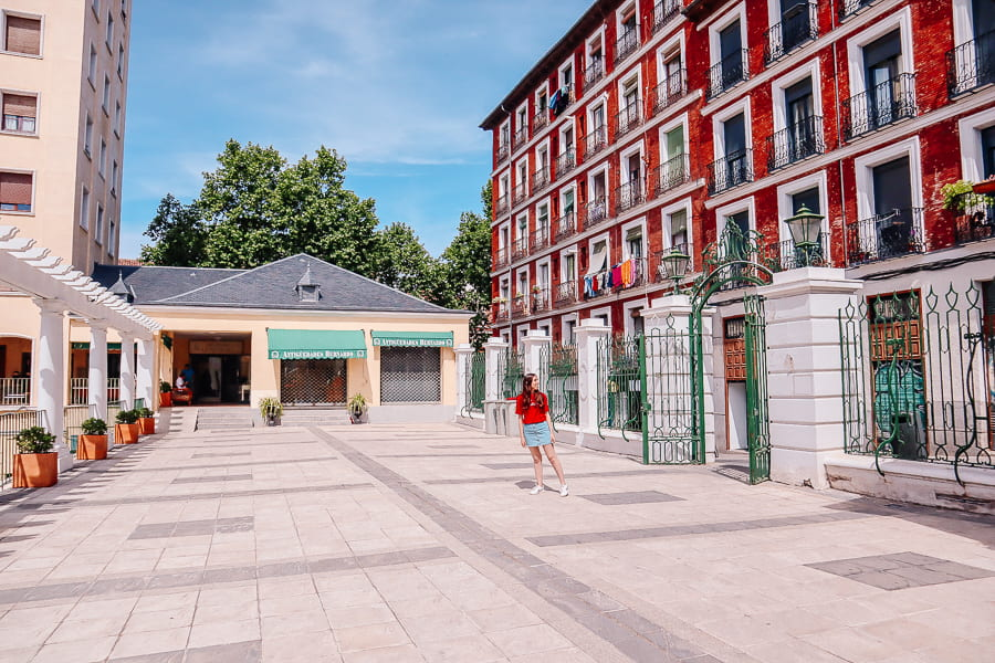 courtyard in Madrid