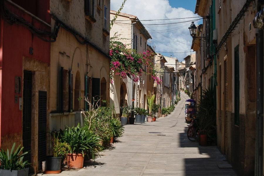 Alcudia town Mallorca